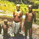 Visale village natives 1944